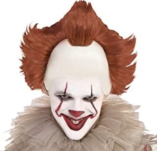 SUIT YOURSELF It Pennywise Wig for Adults, One Size, Features Red Synthetic Fibers, Just Like The Horror Movie Character