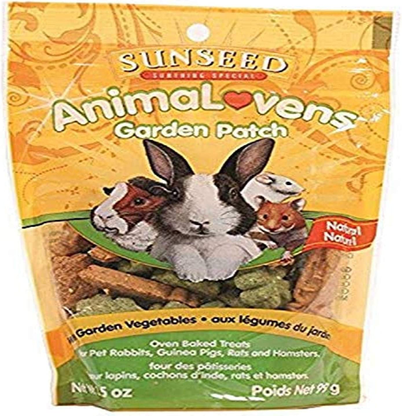 Super special price Sunseed Company 36021 Garden Patch Animal Small Fashion Trea Animalovens