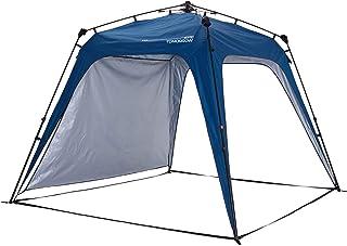 Lumaland Tienda de campaña Gazebo Cenador Light Pop Up Firme SPF 50+ Camping Acampada Festival Azul