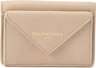 バレンシアガ(BALENCIAGA) 3つ折り財布 391446 DLQ0T 2730 ペーパー ベージュ [並行輸入品]