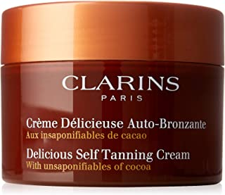 Clarins Delicious Self Tanning Cream for Unisex - 5.3 oz Cream