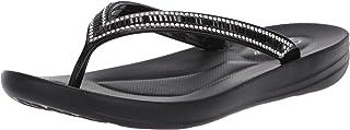 Skechers Bungalow - Poolside Summer - Rhinestone Jelly Thong Black
