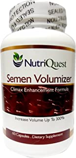 Nutriquest Premium Fertility Supplement for Men - Support Motility, Sperm Count, Volume - All Natural Holistic Herbal Comp...