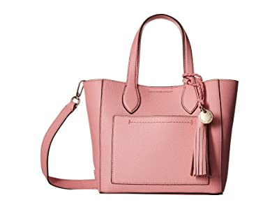 Cole Haan Piper Mini Tote Crossbody (Flamingo Pink) Cross Body Handbags