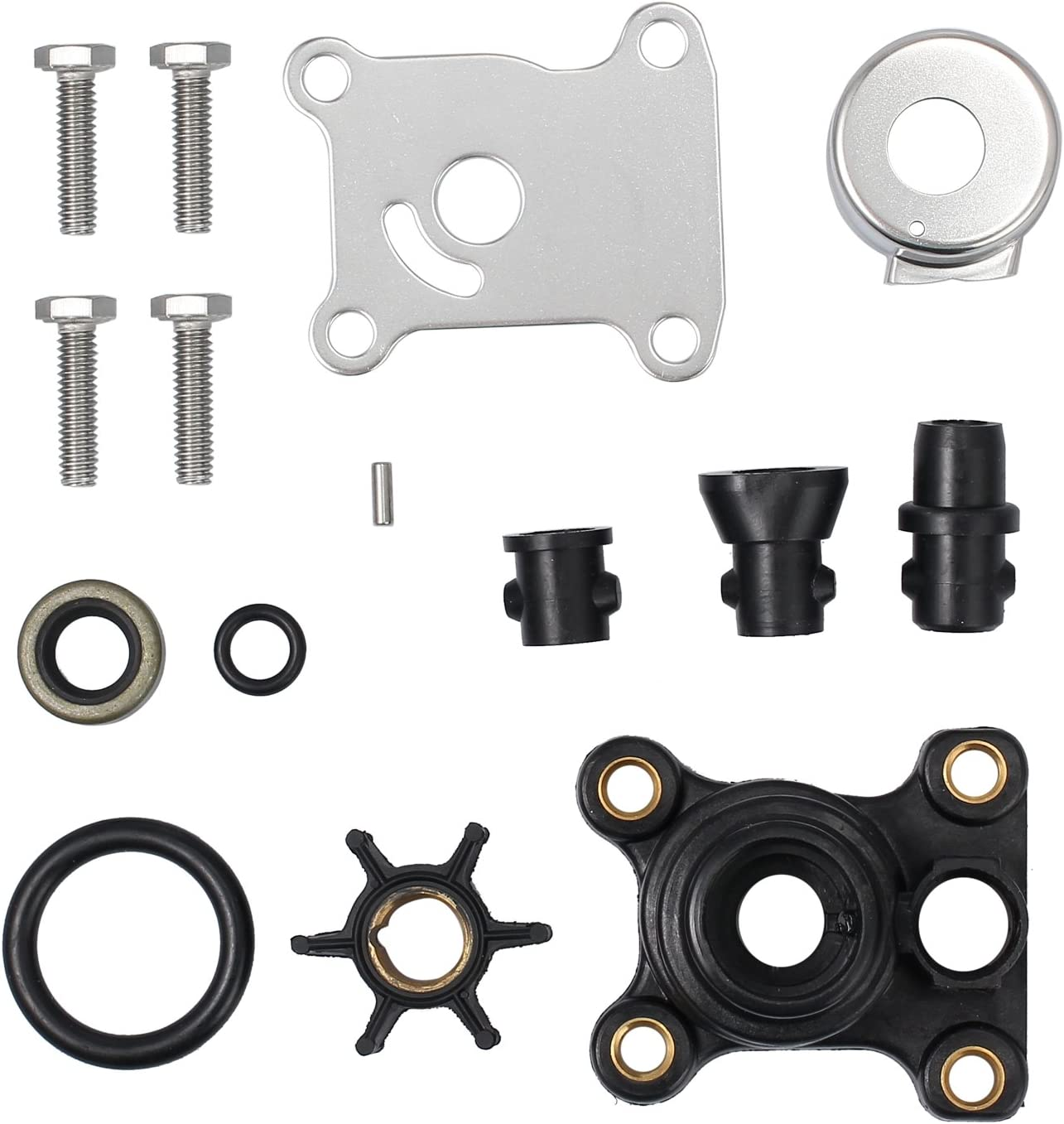 AUTOUTLET Johnson Evinrude Water Pump New arrival We OFFer at cheap prices 394711 Impeller Kit 18-332