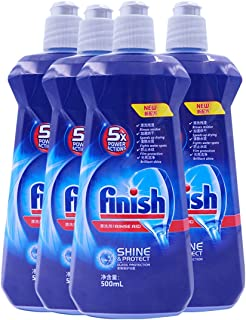 finish 洗碗机专用漂洗剂500ml*4(进口)(亚马逊自营商品, 由供应商配送)