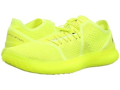 adidas by Stella McCartney Pureboost Trainer (Solar Yellow/Cream White/Solar Yellow) Women