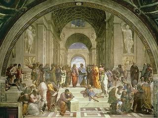 Feeling at home ART-PRINT-ON-PAPER-Scuola-di-Atene-Raffaello-European-36_X_48_inch-Fine-Art-Image-for-Frame-Wall-decore