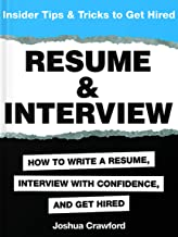 Resume & Interview: Insider Tips & Tricks to Get Hired                                              best CV and Resume Books