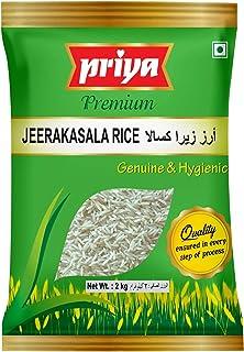 PRIYA FOODS Jeerakasal Rice, 2 kg