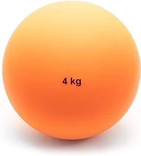 Crown Sporting Goods 4 Kg (8.8lbs) Indoor Shot Put Ball - Indoor Track & Field Quality Shot Put Ball for Indoor Practice & Weight Training for Men & Women