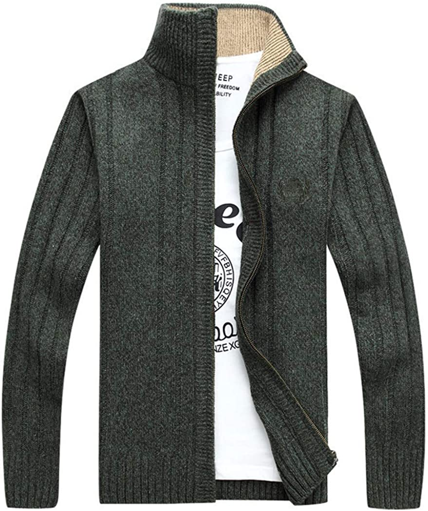 Sweater Men Autumn Winter Wool Translated Fashion Thick Cardigan Ranking TOP19 Kn Outwear