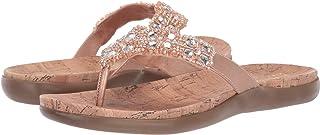 Kenneth Cole REACTION Women's Glam-Athon Flat Sandal