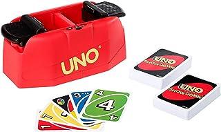 UNO Showdown jeu de société et de 112 cartes avec lanceur, pour enfants et adultes, GKC04