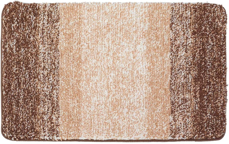 Door mat Floor mat - Microfiber TPR Environmentally Friendly Tasteless Non-Slip Material, Comfortable and Soft, Absorbent Non-Slip, Gradient Snowflake Home Bedroom Porch Bathroom Absorbent mat - 2 c