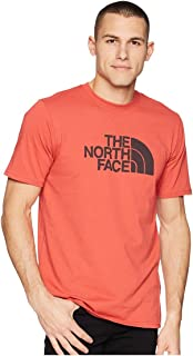 The North Face Bottle Source Logo Tee Sunbaked Red Men's T Shirt