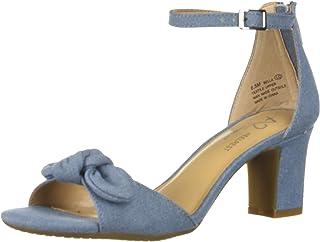 Aerosoles A2 Women's Bella Sandal, Denim Fabric, 8.5 M US