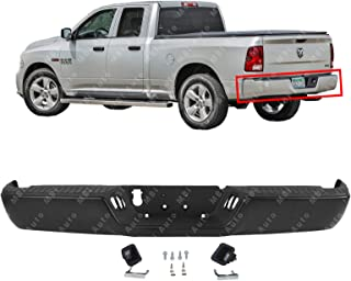 MBI AUTO - Primered Steel, Rear Bumper Assembly for 2009-2018 RAM 1500 Pickup 09-18, CH1103120