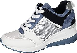 Women's Wedge Sneakers High Heel Fashion Lightweight...