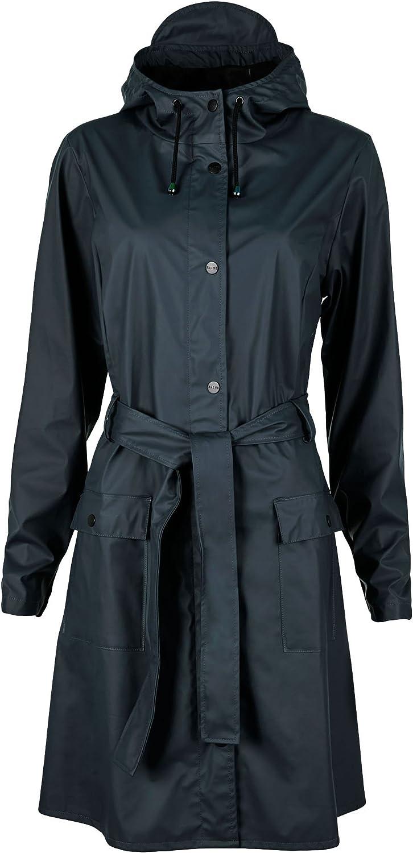 Rains Curve Womens Jacket X Small Small bluee