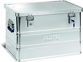 ALUTEC MÜNCHEN 2011068 aluminium box Classic met cilinderslot 595 x 390 x 380 mm, zilver