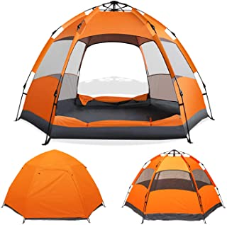 Instant Pop Up Camping Tent Easy Setup Automatic...