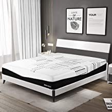 Warm Harbor Queen Mattress 12 Inch 4 Layers Memory Foam Mattress with CertiPUR-US Certified Bamboo Charcoal Foam Breathable Supportive Bed in a Box