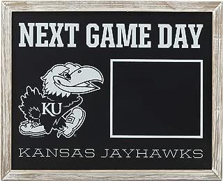 KU Game Day Framed Chalkboard