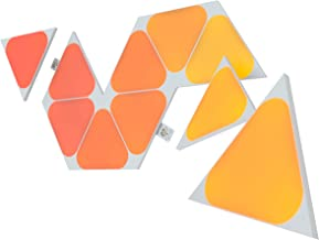 Nanoleaf SHAPES Triangles Mini Expansion Pack - Smart WiFi LED Panel System w/Music Visualizer, Instant Wall Decoration, H...