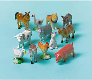Amscan Favours 12-Farm Animals