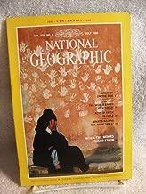 NATIONAL GEOGRAPHIC MAGAZINE JULY 1988 ATLANTA, KOURION, CHILE, PALM TREES,MOORS
