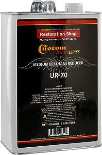 Restoration Shop/Custom Shop - UR70 Medium Urethane Reducer (Gallon) for Automotive Paint and Industrial Paint Use - High Performance Automotive Grade