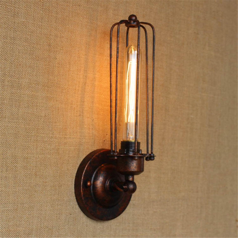mejor precio Lámpara de parojo parojo parojo pequeo dormitorio creativo cabecera Pasillo escalera muro oxidado lámpara Lámpara de parojo pastoral  el precio más bajo