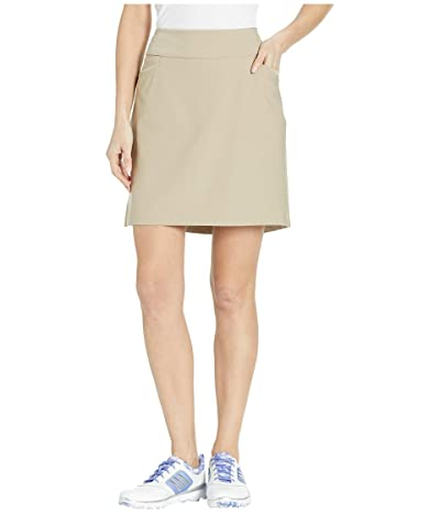 adidas Golf Adistar Pull On 18 Skort (Trace Khaki) Women