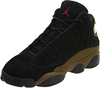 premium selection 7db89 d1451 Jordan Air 13 Retro BG Big Kids Sneakers Black Gym Red Light Olive 884129