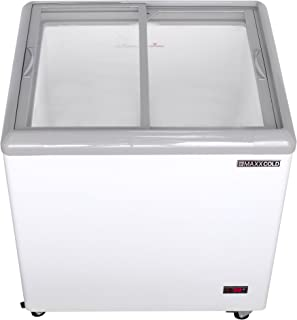 """Maxx Cold MXF31F 31"""" 7.5 cu ft Commercial Mobile Ice Cream Display Freezer"""