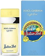 D&G LIGHT BLUE ITALIAN ZEST POUR FEMME 3.4OZ EDT -SLIGHTLY DAMAGED BOX