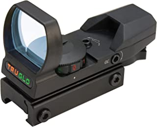 TRUGLO Dual Color Multi Reticle Open Red Dot Sight (TG8360B)
