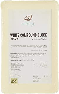 Benoit White Compound Chocolate Block, 500 gm