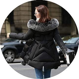 Winter Women Down Jacket Female Coat Thick Warm Long Section Jackets Female Outerwear Hood