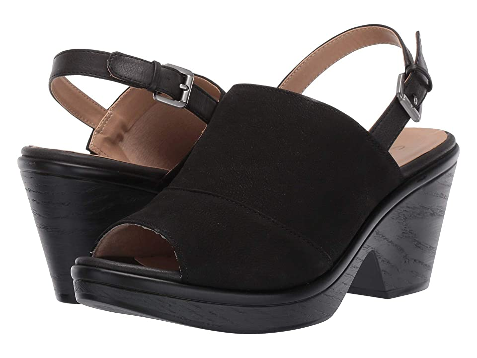 SOUL Naturalizer Faye (Black Leather/Smooth) High Heels
