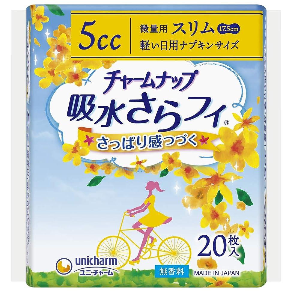 誰のフォアマン添加チャームナップ 吸水さらフィ 女性用 5cc 微量用 軽い日用ナプキンサイズ17.5cm 20枚【軽い尿もれの方】