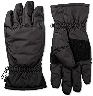 Isotoner Signature Mens Ski Gloves Black Size M L