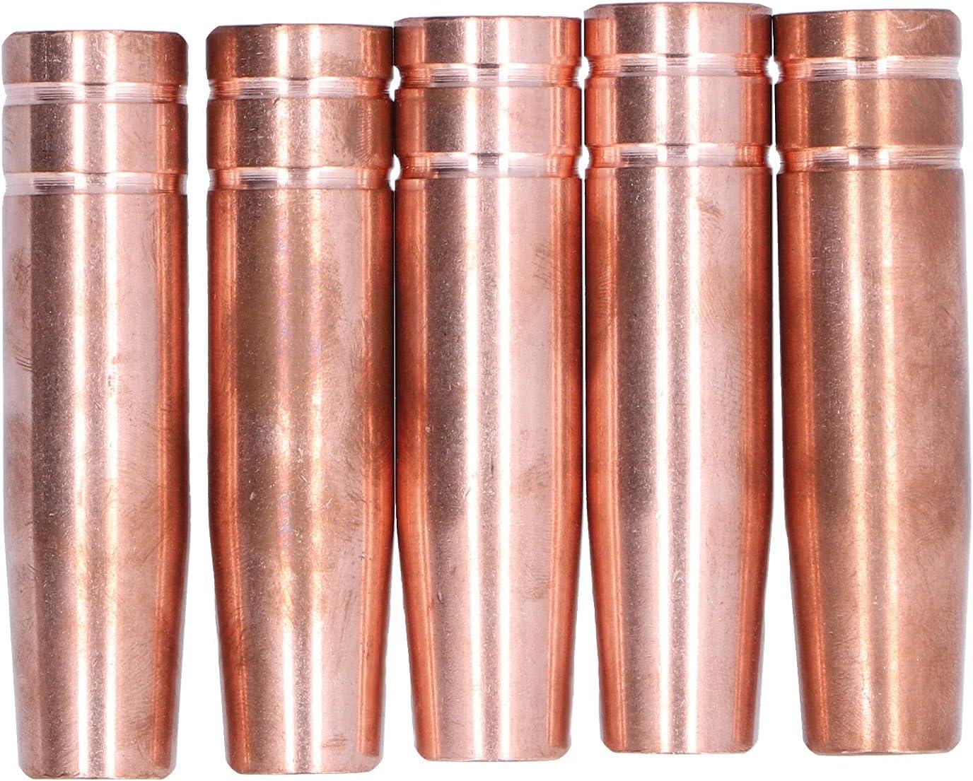 Eujgoov 5Pcs Welding Gas sale Torch Protection Copper Inexpensive Nozzles