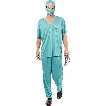 Disfraz de médico para hombre Talla única: Amazon.es: Juguetes y ...