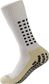 Deportes Thicken Calcetines de cojín con Puntos de Goma para Baseball/Soccer/Futbol Shinguards Unisex