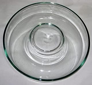 Vintage Pyrex Heavy Glass 9 x 2 1/4 Inch / 22 cm Bundt Fluted Brioche Cake Baking Pan Jell-O Mold France