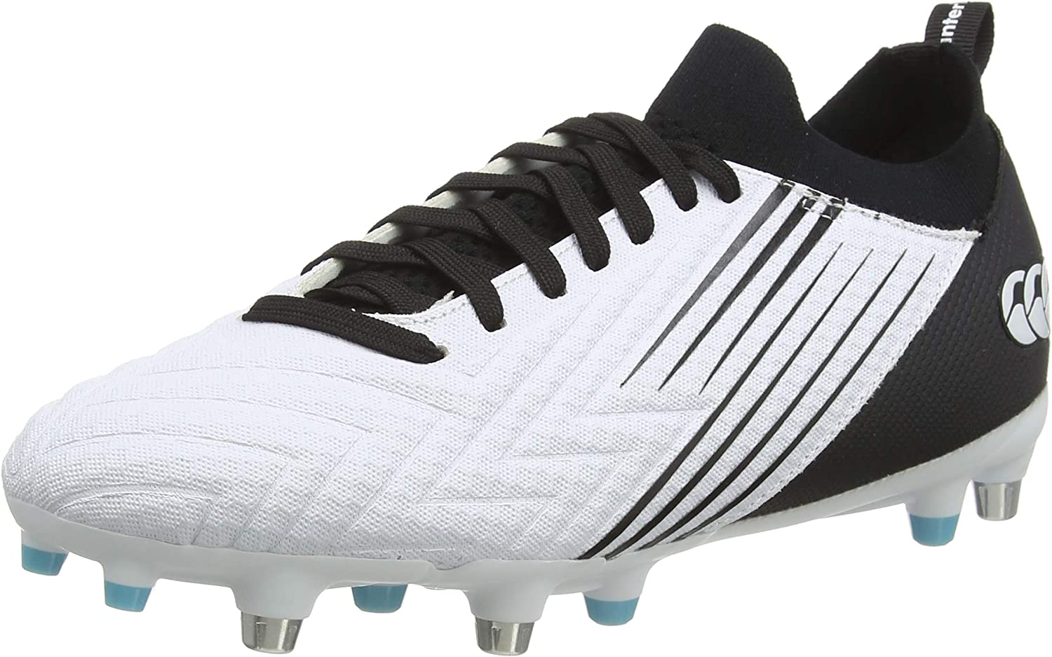 Canterbury Men's Speed 3.0 Pro Regular discount Soft Rugby Shoe Bla White OFFicial site Ground