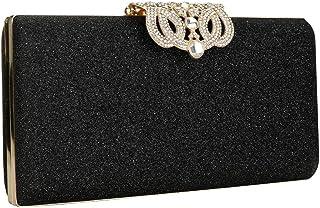Elegant Glitter Evening Bag Clutch Purses for Women Cocktail Party Wedding Bling Sequin Handbag Clutches Wallets
