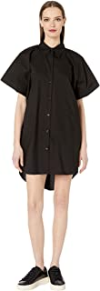 MM6 Women's Short Sleeve Shirt Dress